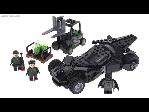lego batman vs superman batmobile