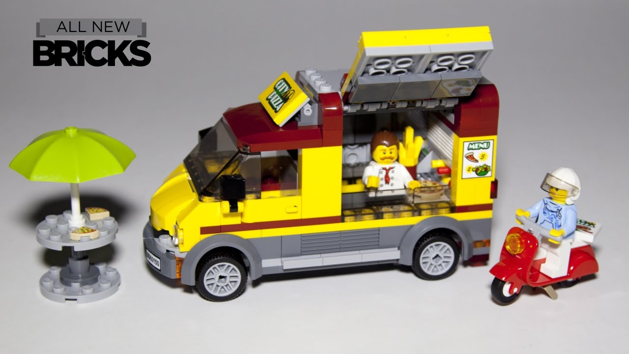 lego camion pizza