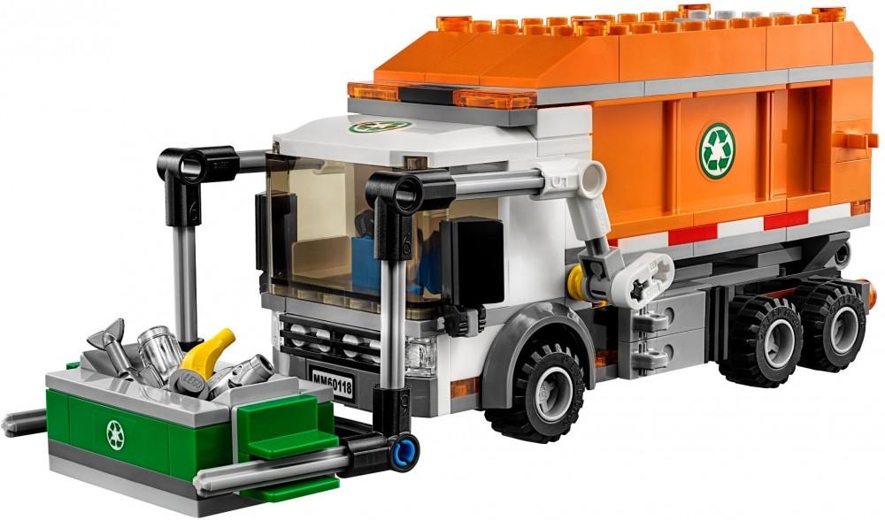 lego camion poubelle