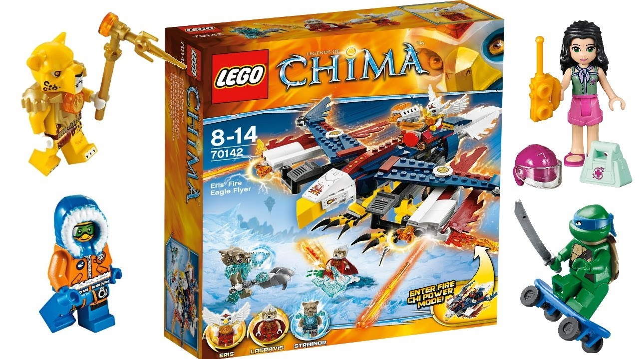lego chima city