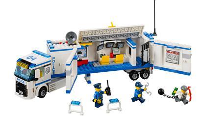 lego city police camion