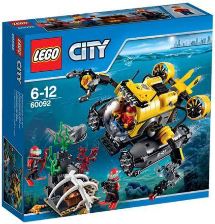 lego city sous marin
