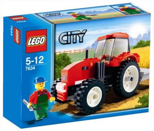 lego city tracteur