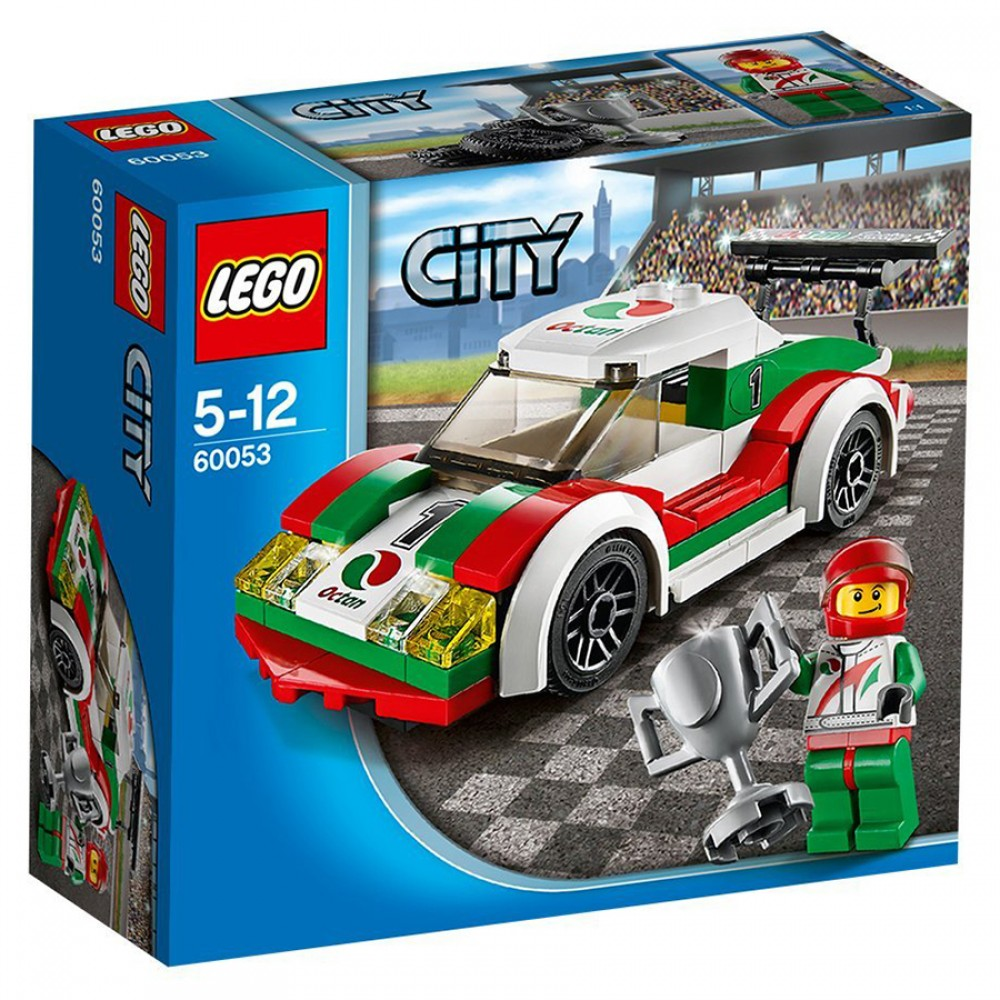 lego city voiture de course