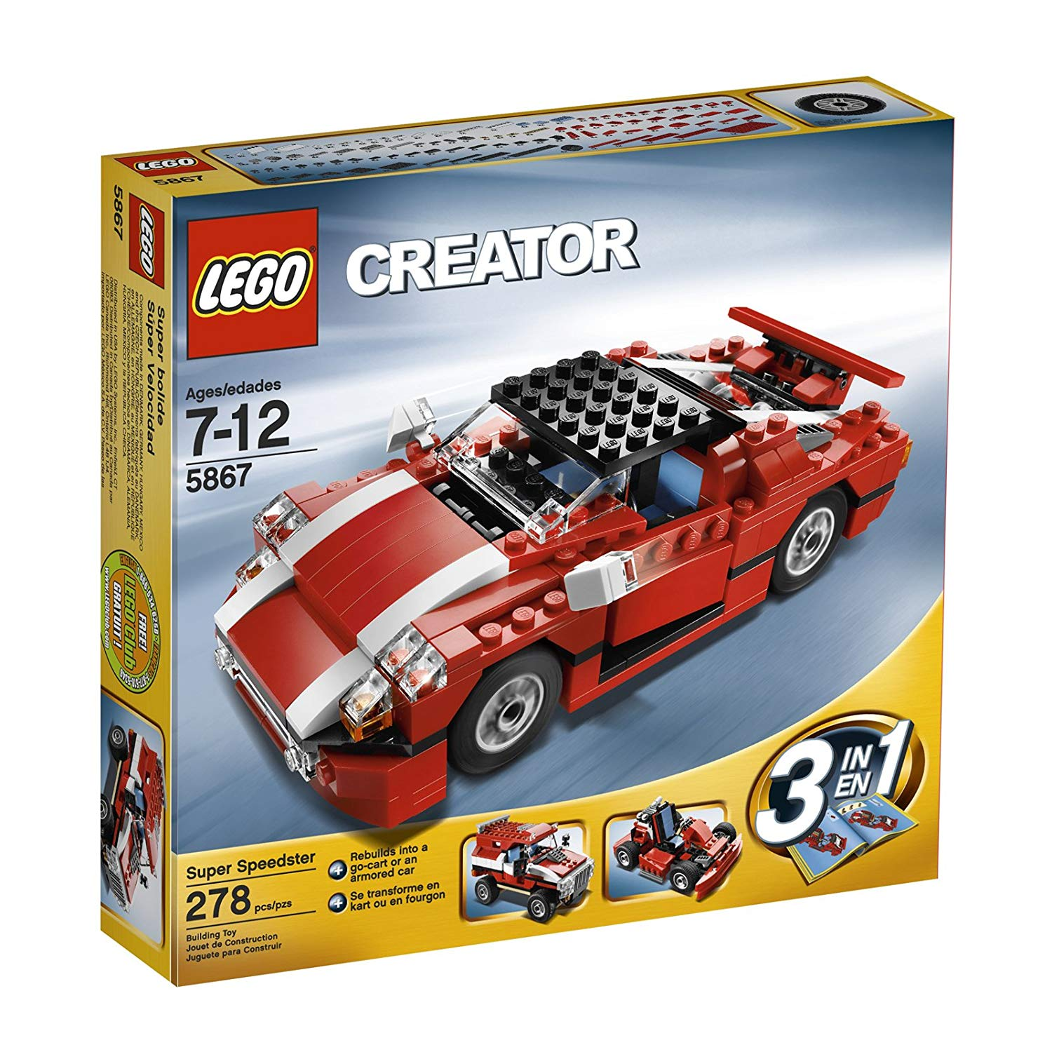 lego creator vehicles