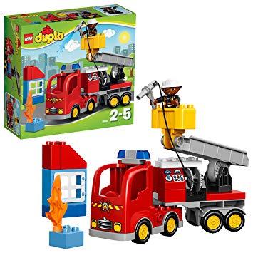 lego duplo camion pompier