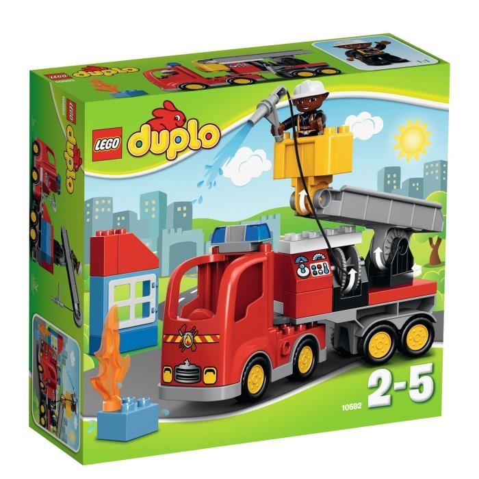 lego duplo le camion de pompier