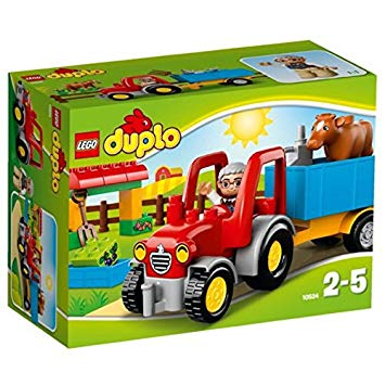 lego duplo tracteur