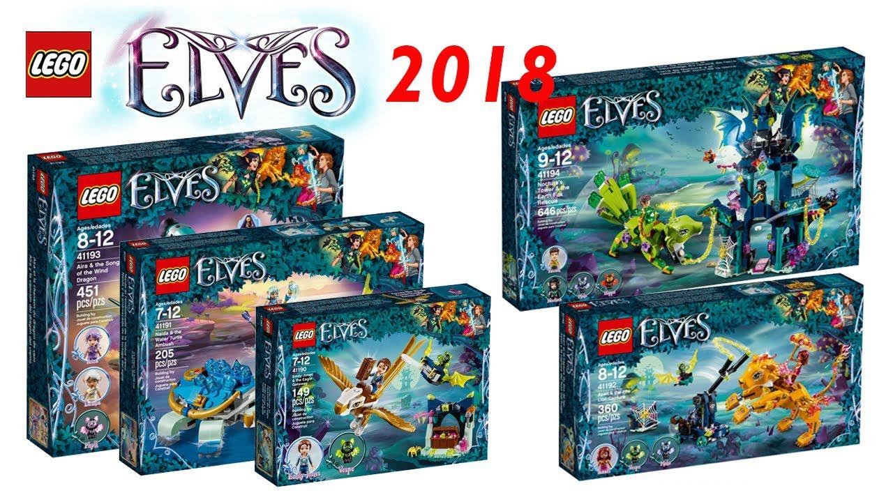 lego elves 2018