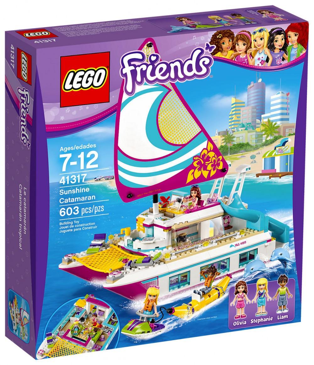 lego friends bateau