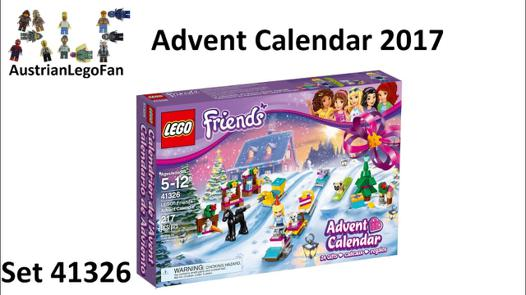 lego friends calendrier