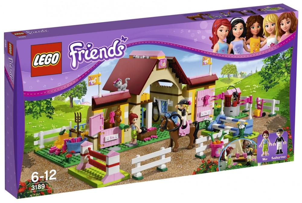 lego friends ecurie