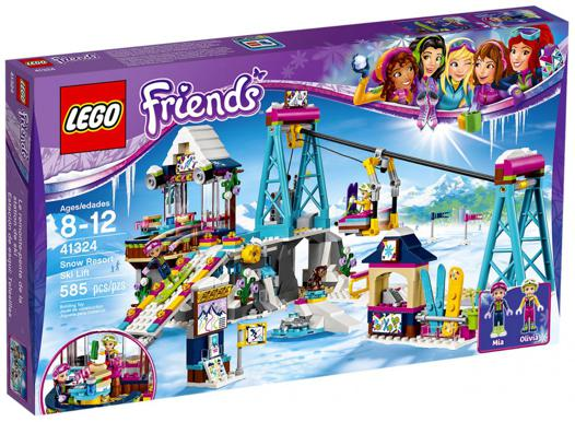 lego friends la station de ski