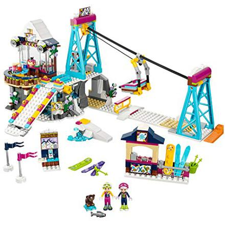 lego friends station de ski