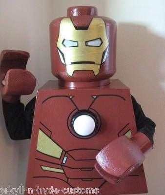 lego iron man costume