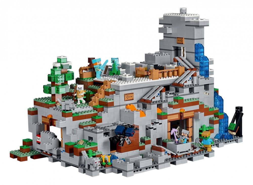 lego minecraft la mine
