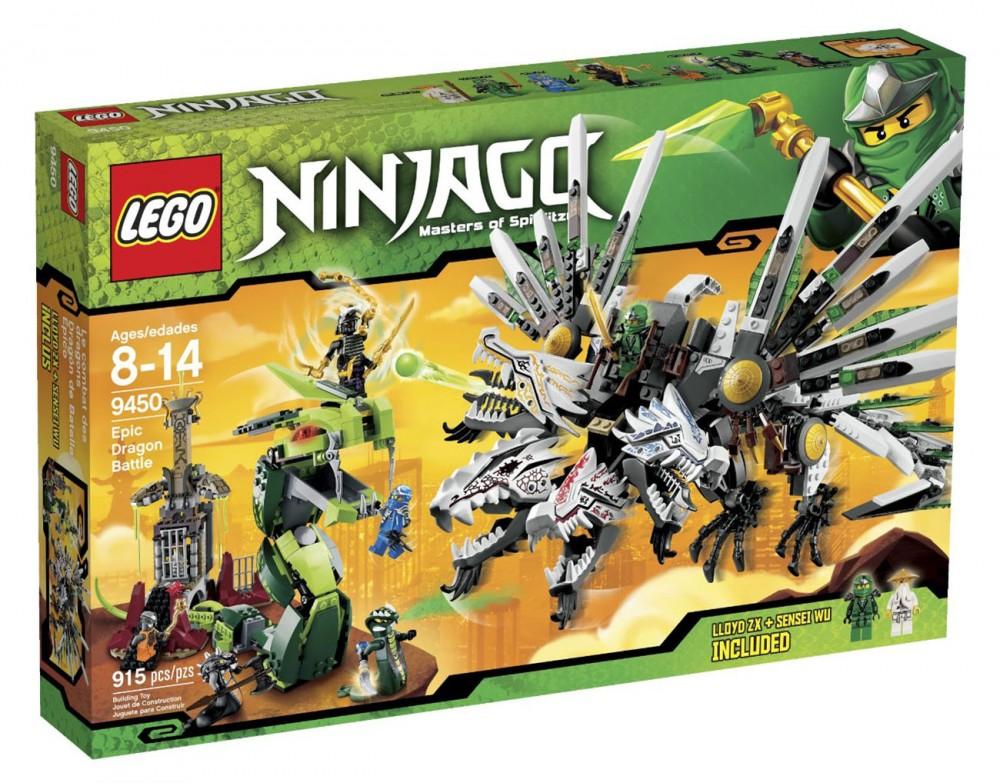 lego ninjago dragon a 4 tetes
