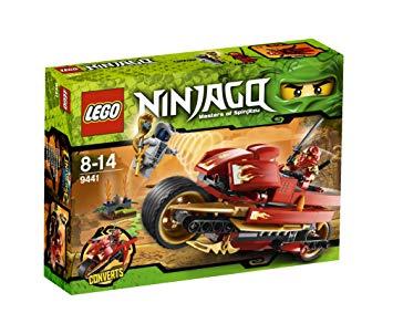 lego ninjago la moto de kai