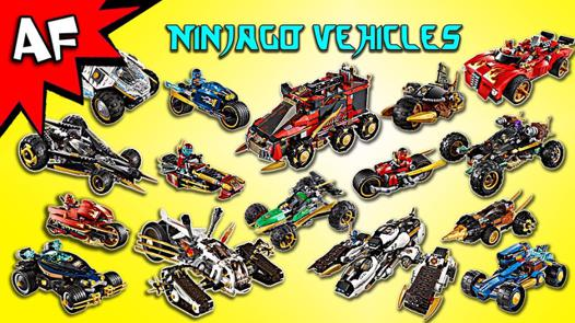 lego ninjago vehicle sets