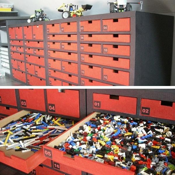 lego rangement bloc