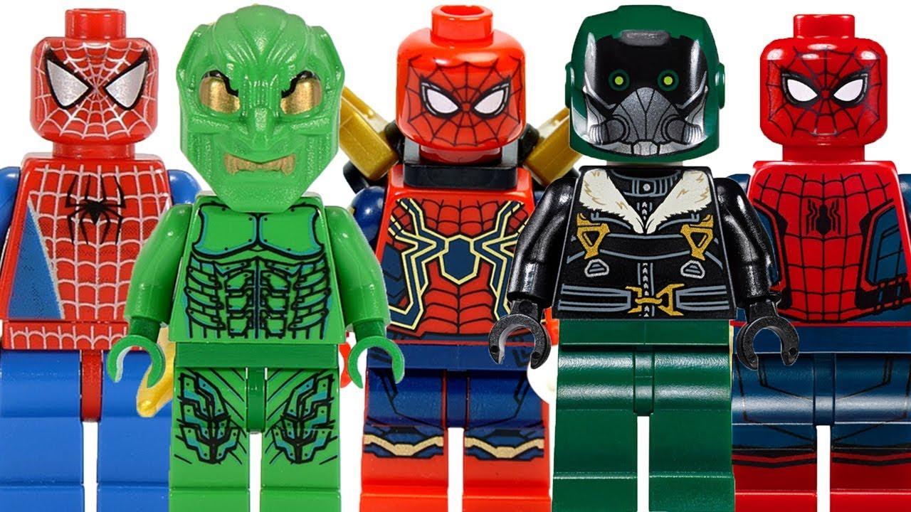 lego spider man 2002