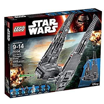 lego star wars vaisseau kylo ren