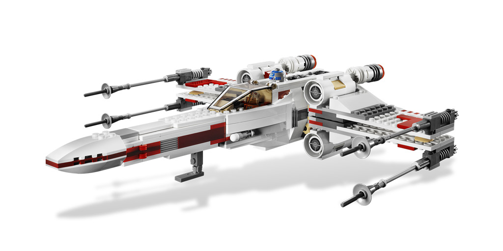 lego star wars wing fighter
