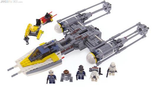 lego star wars y wing