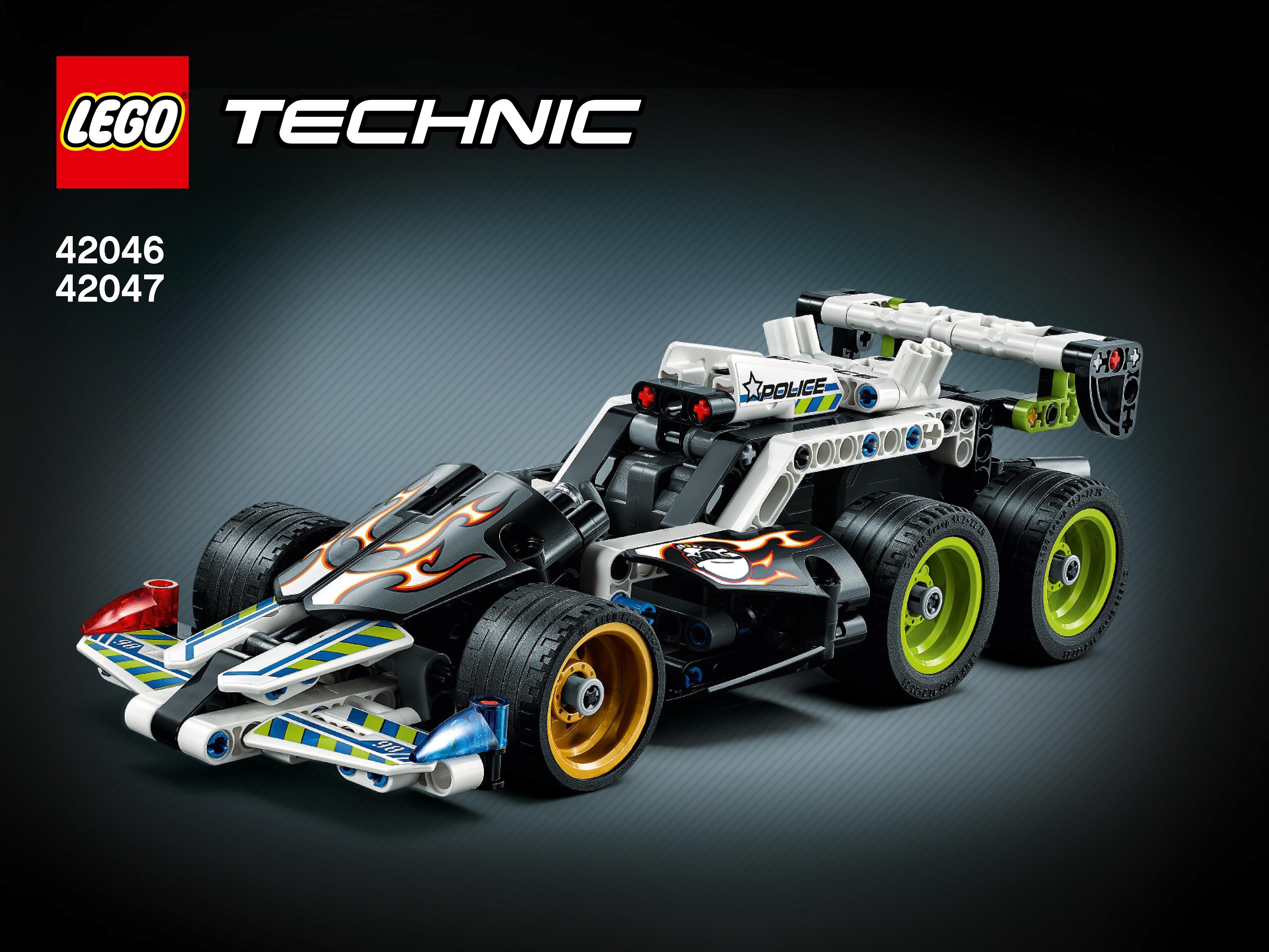 lego technic 42046 et 42047