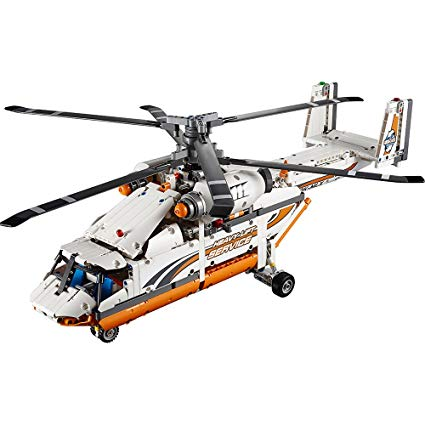 lego technic helicoptere