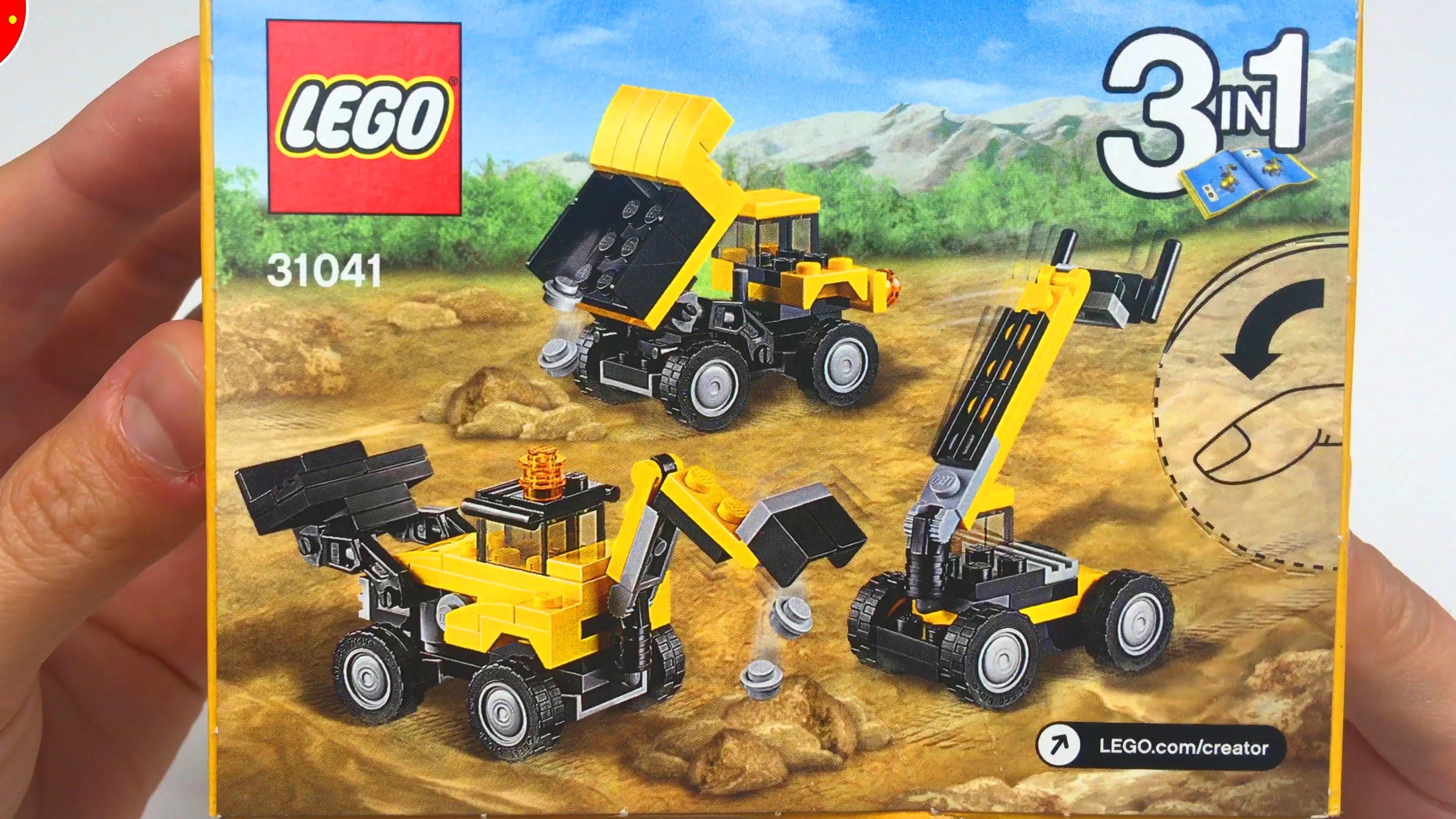 lego tracteur