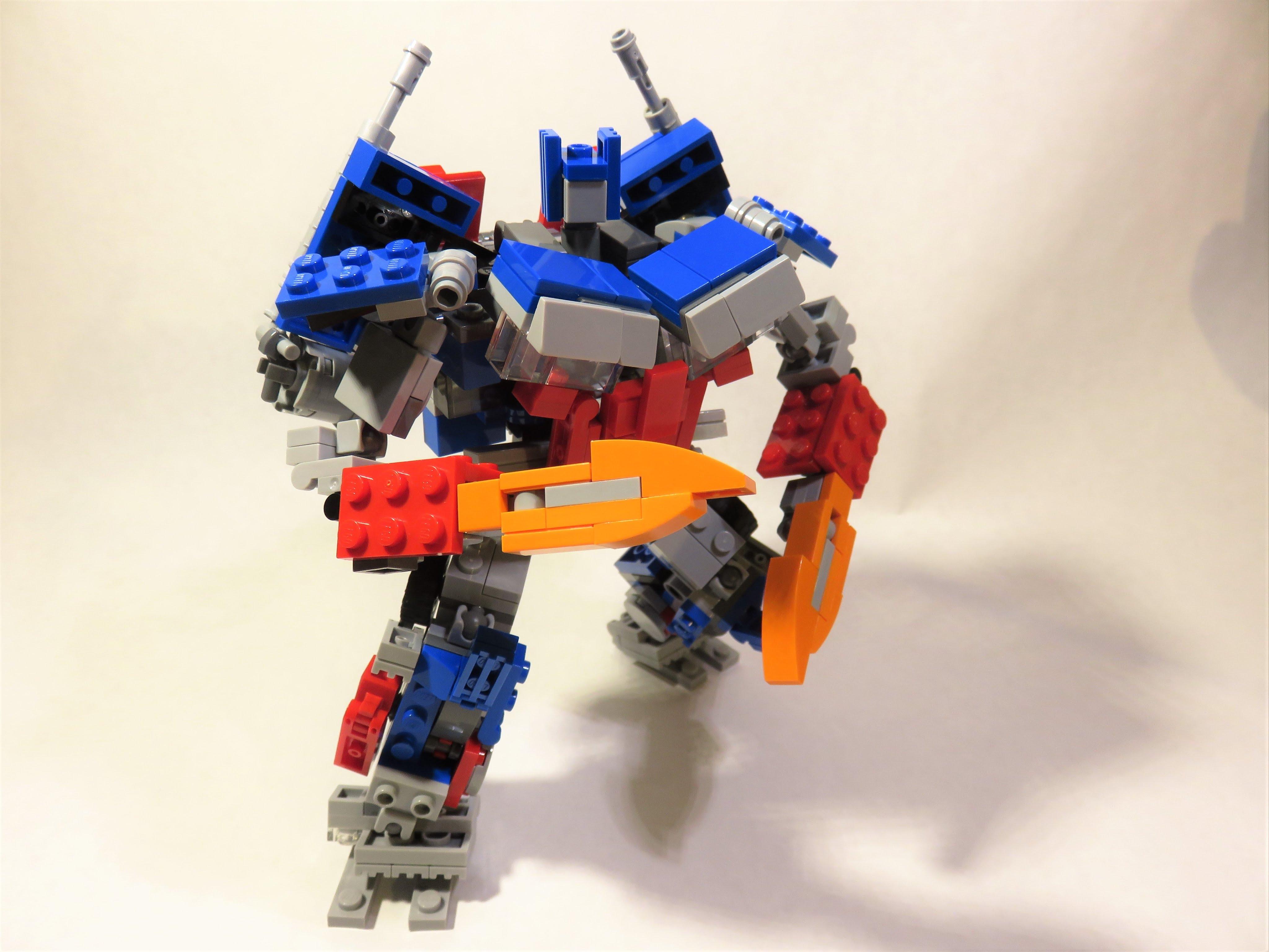 lego transformers optimus prime