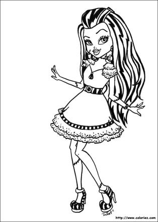 les dessins de monster high