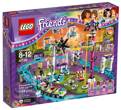 les montagnes russes lego friends