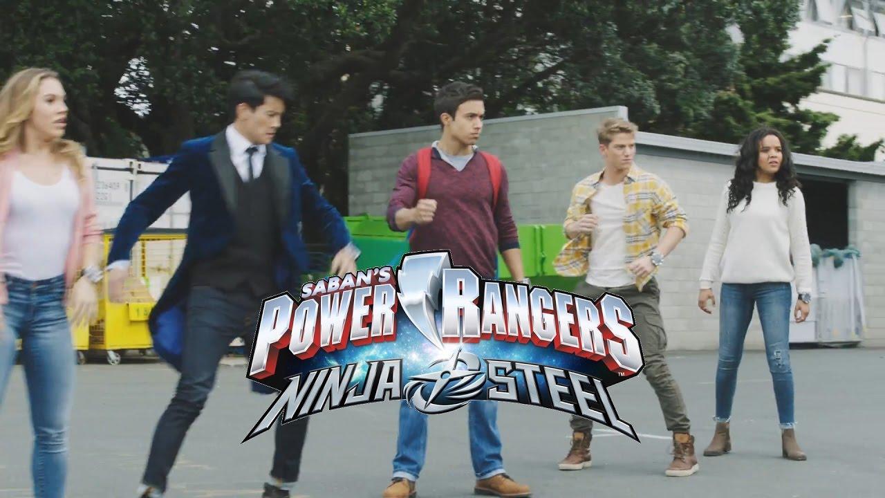 les power rangers ninja steel