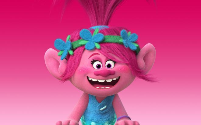 les trolls princesse poppy
