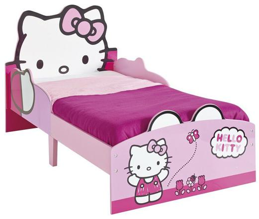lit fille hello kitty