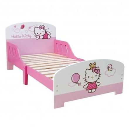 lit petite fille hello kitty