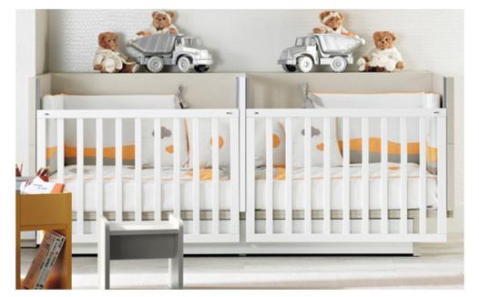 lit pour bébé jumeaux