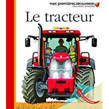 livre enfant tracteur