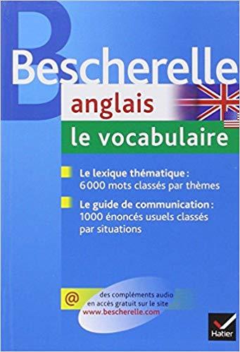 livre vocabulaire anglais
