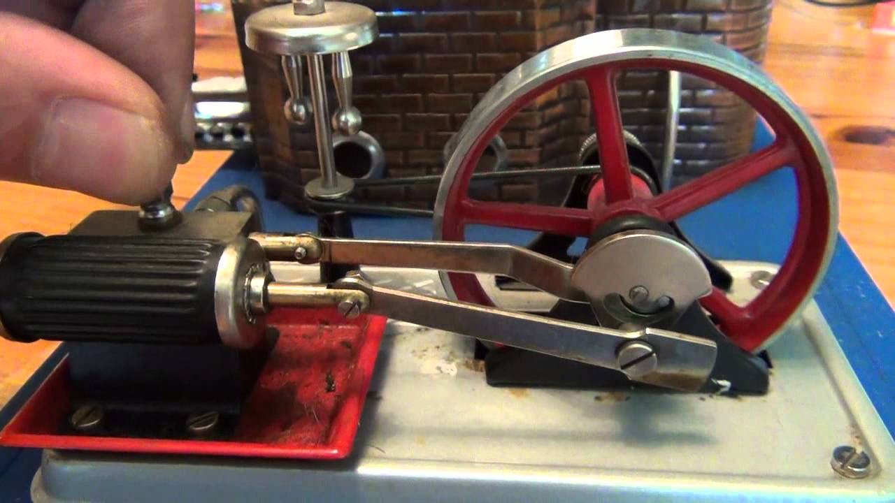 machine a vapeur miniature
