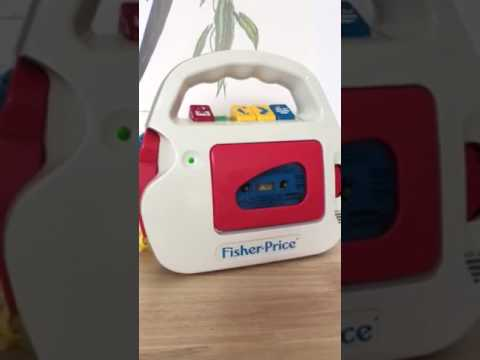 magnétophone fisher price