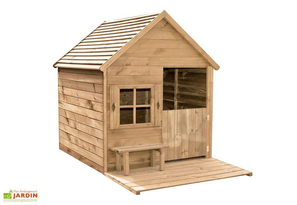 maison d enfant bois