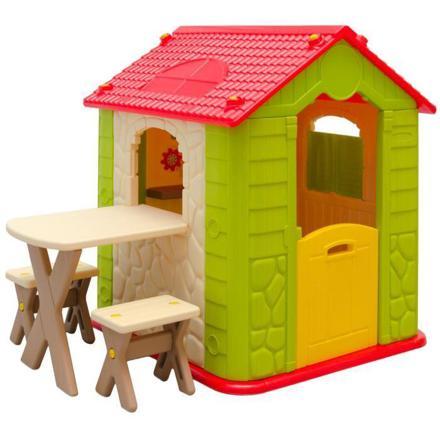 maison de jardin plastique