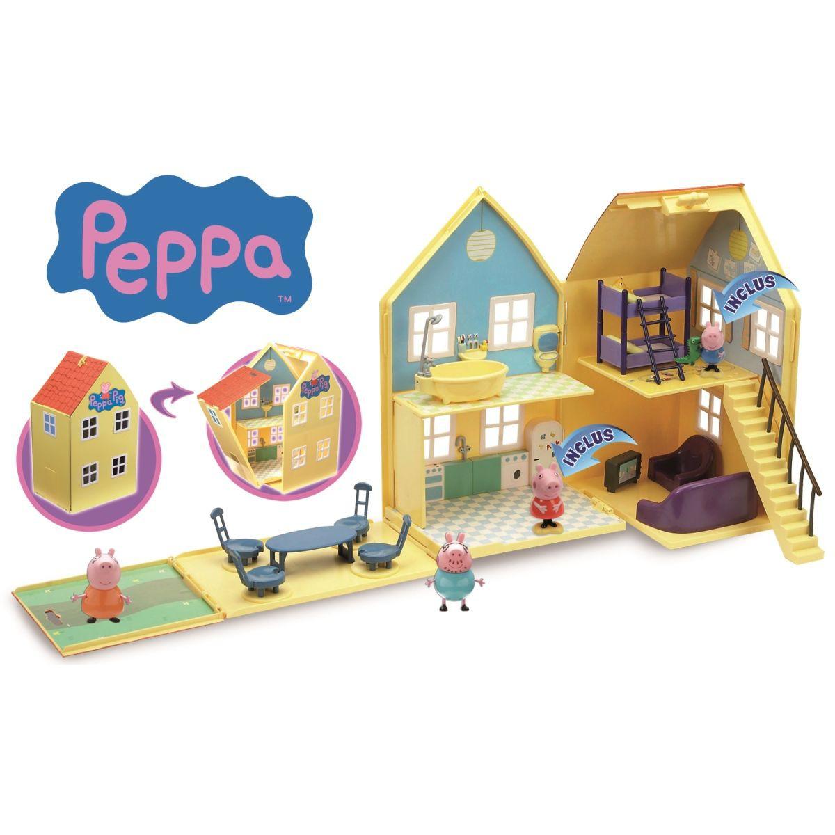 maison de peppa pig