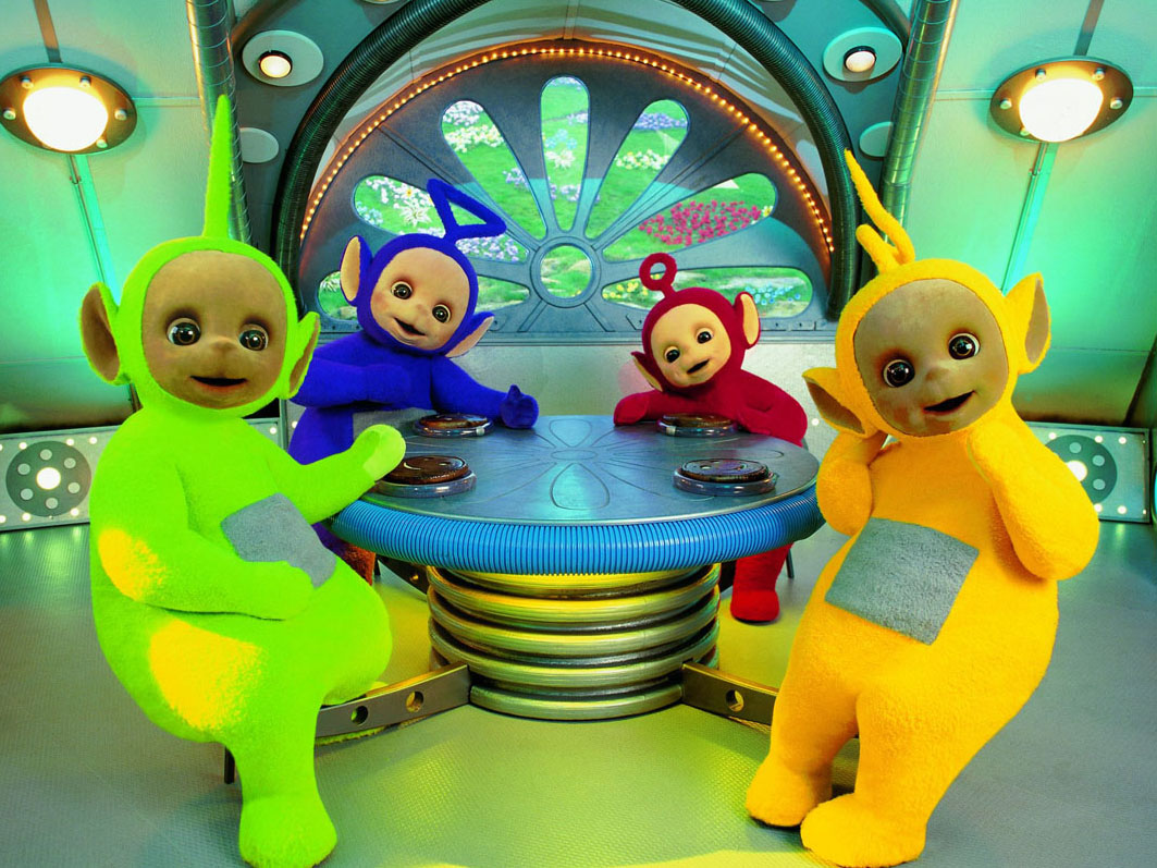 maison des teletubbies