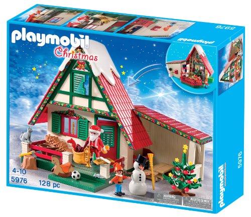 maison du pere noel playmobil