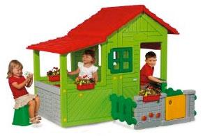 maison enfant plein air