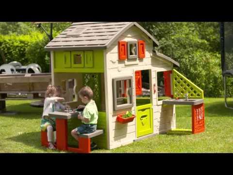 maison friends house cuisine extérieure